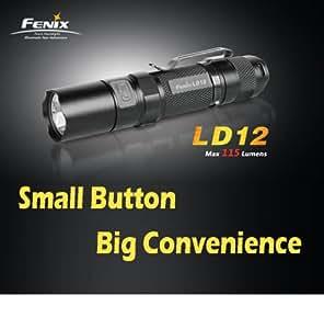 Fenix LD12 115 Lumens CREE XP-G R5 LED Flashlight - Uses 1XAA Battery