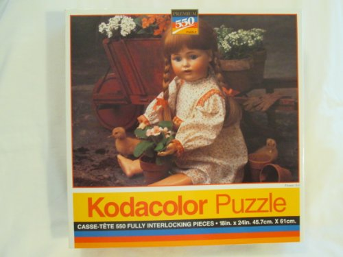 Kodacolor - Flower Girl - Jigsaw Puzzle - 550 Pc - 1