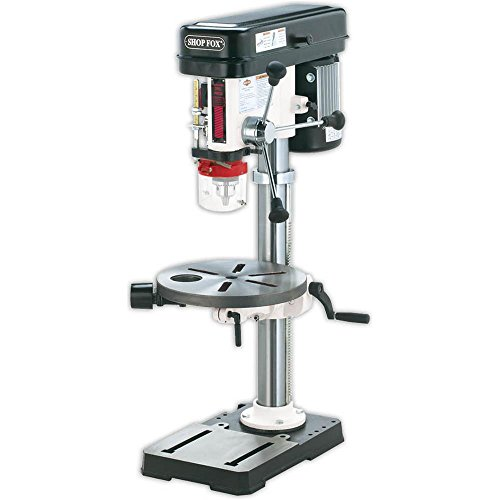 Shop-Fox-W1668--HP-13-Inch-Bench-Top-Drill-PressSpindle-Sander