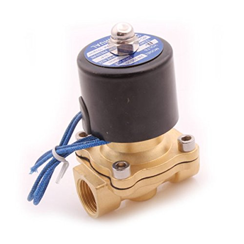 Generic Dc 12V 1/2 Inch Electric Solenoid Valve Fit Air Water Oil