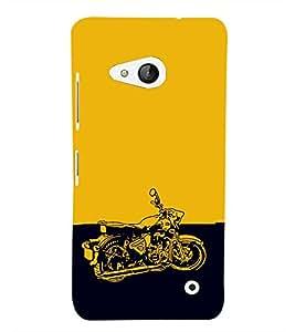 EPICCASE Trendy Bike Mobile Back Case Cover For Microsoft Lumia 550 (Designer Case)