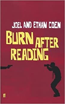 Burn after reading book pages