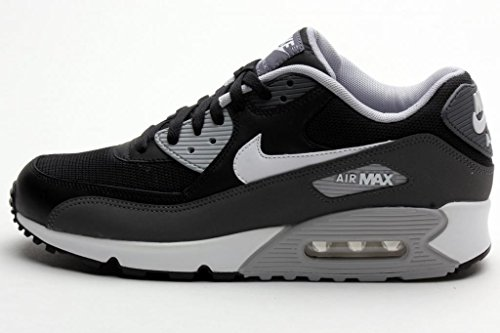 black white grey air max 90