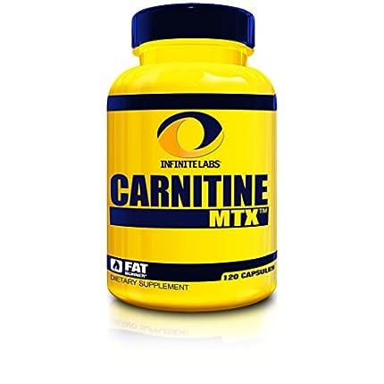 Infinite Labs Carnitine MTX Capsules, 120-Count