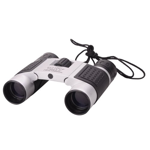 8X21 Super Mini Binoculars W/ Grab Rope, Clean Cloth, Bag