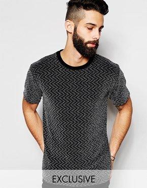 Reclaimed Vintage T-Shirt In Metallic Thread 並行輸入品
