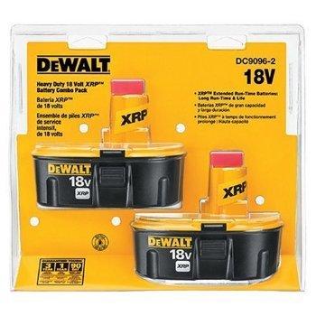 Dewalt 18 Volt XRP Battery Combo Pack,