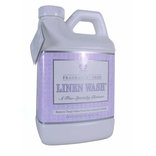 Le Blanc Linen Wash Unscented 64 oz Economy Clean Vintage Precious Heirloom Linens Safely, One