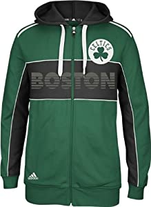 Boston Celtics Adidas NBA 3 Stripe The Chosen Few Full Zip Sweatshirt by adidas