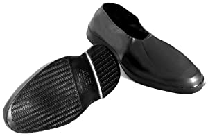 Totes Men's Rubber Footwear ( Overshoes )M - 8 1/2 - 9 1/2, Black, One Size