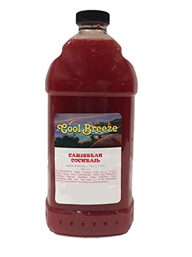 Caribbean Cocktail Frozen Drink Machine Granita Slush Mix (6 Pack) (Breeze Cocktail compare prices)