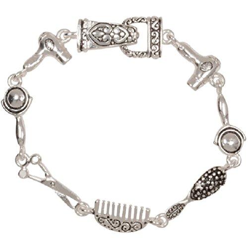 Hair dresser salon stylist beautician charm bracelet 7 for A shear pleasure pet salon