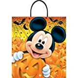 Mickey Mouse Halloween Trick or Treat Tote Bag-1 count