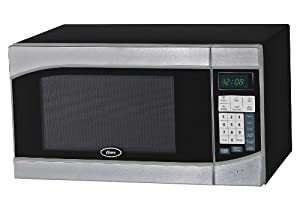 Oster OGH6901 0.9 Cubic Feet Digital Microwave Oven, Stainless Black by Oster