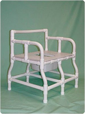 Bariatric Bedside Shower/Commode Seat