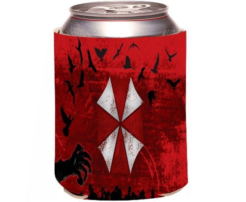"Rikki Knight ""Umbrella Design"" Beer Can Soda Drinks Cooler Koozie"