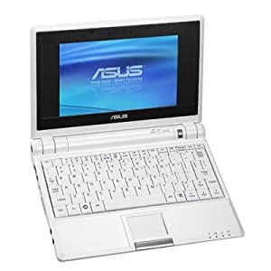Asus Eee PC 4G Surf (7-Inch Display, Intel Mobile Processor, 512 MB RAM, 4 GB Hard Drive, Linux Preloaded) Pure White