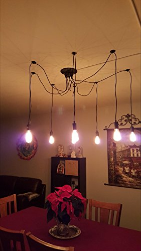 STG 10 lights Vintage Pendant Lights Home Ceiling Light Fixtures Chandeliers Lighting