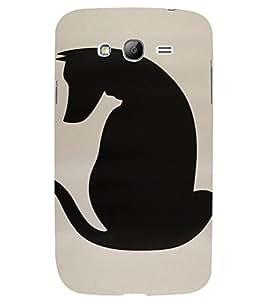 PrintVisa Animal Dog Design 3D Hard Polycarbonate Designer Back Case Cover for Samsung Galaxy Grand Neo