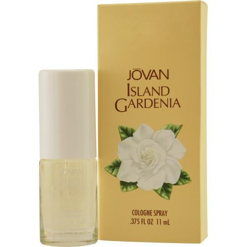 Coty Jovan Island Gardenia Perfume Cologne Spray for Women, 0.375 Ounce