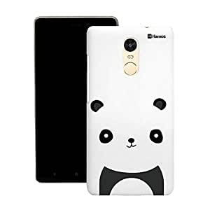 Customizable Hamee Original Designer Cover Thin Fit Crystal Clear Plastic Hard Back Case for Motorola Moto G4 Plus / G Plus 4th Gen (Black Panda)