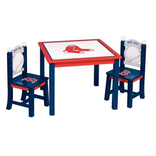 Buy Guidecraft MLB Boston Red Sox Table and Chair Set for $82.88 ...