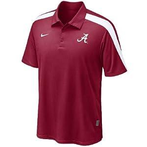 Ncaa fans store alabama crimson tide crimson coaches dri for Alabama crimson tide polo shirts