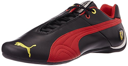 Puma Future Cat Leather SF -10- Unisex-Erwachsene Sneakers, Schwarz (Black/Red), 44 thumbnail