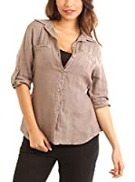 Maison du Lin Camisa Mujer E17 Athenes 9078 (Taupe)
