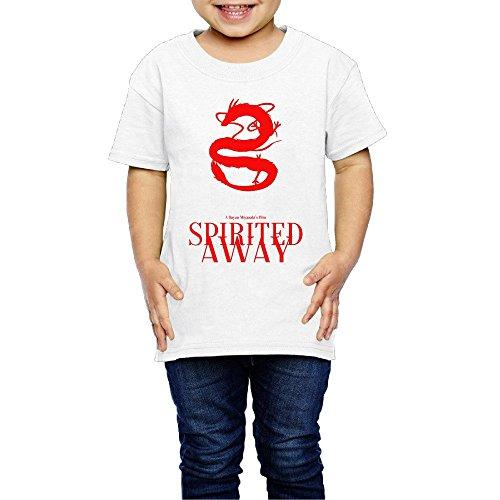Spirited Away Anime Movies Rumi Hiiragi Miyu Irino Mari Natsuki Toddler Tee Short Sleeve Shirts (Infinite Santa 8000 compare prices)
