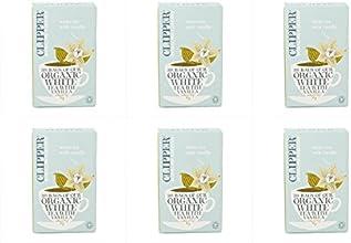 6 PACK - Clipper - Organic White Tea  Vanilla  26 Bag  6 PACK BUNDLE
