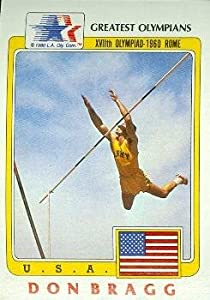 Buy Don Bragg Greatest Olympians Card (Pole Vault) 1983 Topps #17 by Autograph Warehouse