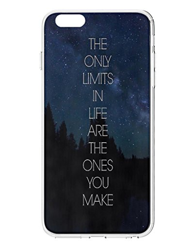 Iphone 6 Hard Case - The Only Limits in Life Are the Ones You Make (Iphone 6 Case Positive compare prices)