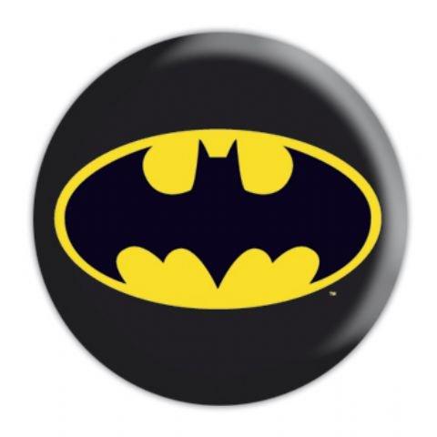 Spilletta con logo classico di Batman, 25 mm