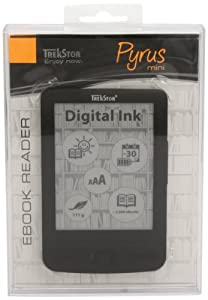 TrekStor e-Book Reader Pyrus mini noir