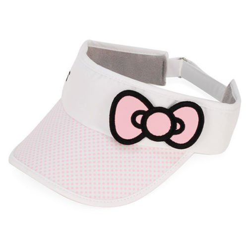 hello-kitty-sports-womens-bow-visor-pink-medium