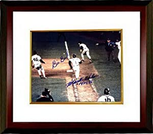 Bill Buckner signed Boston Red Sox 16X20 Photo 10-25-86 Custom Framed (Game 6 World... by Athlon Sports Collectibles