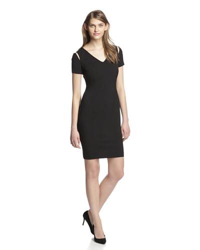 Marc New York Women's Slash Shoulder Sheath Dress
