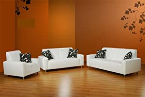sofa garnitur janus 3 teilig federkern pflegeleicht k che haushalt. Black Bedroom Furniture Sets. Home Design Ideas