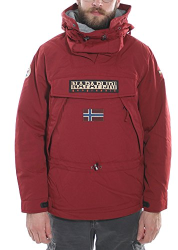Giaccone Skidoo Winter Napapijri N0Y7ZB R32-MineralRed, XL MainApps