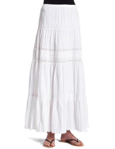 Karen Kane Women's Pintuck and Lace Skirt