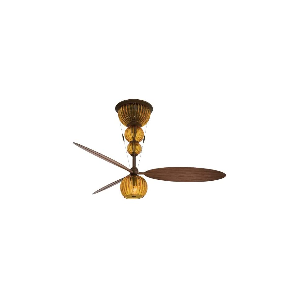 Minka Aire F816 3 ORB, Ensemble Oil Rubbed Bronze Hugger 60 Ceiling Fan with Light & Wall Control