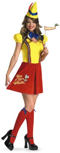 [Sexy Pinocchio Costume - Medium (8-10)] (Pinocchio Adult Costumes)