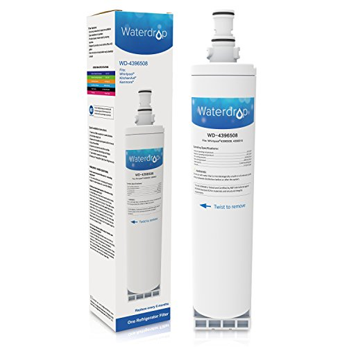 Waterdrop Water Filter, Compatible with PUR W10186668, Whirlpool 4396508, 4396510, EDR5RXD1, NLC240V, Kenmore 46-9010 models, 1 pack (42 Thermador Refrigerator compare prices)