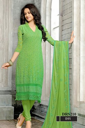 Vinayak Textile Women's Georgette Salwar Suit