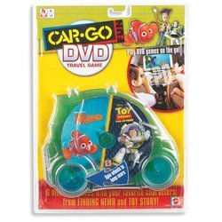 Car-Go Fun: Finding Nemo And Toy Story DVD Travel Game - 1