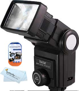Nikon D5000 Vs D90: Vivitar 285HV Flash for Nikon D3200 D800 D800E D7000 D5100 D3100 D3000 D5000 ...
