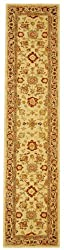 "Safavieh Anatolia AN546A Hand-made Hand-spun Wool 2' 3"" x 8' Area Rug"