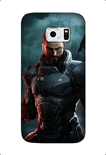 Samsung Galaxy S7 Edge Case, [Drop Protection] Scratch Resistant Perfect-Fit Shock Absorbing Non-Slip Game Mass Effect 3 Hard Armor Case