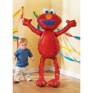 Elmo Airwalker Mylar Jumbo Balloon 3